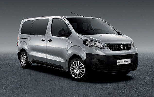 Der Peugeot Expert Kombi