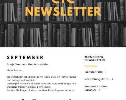 September Newsletter CTC