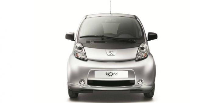 Das Elektroauto Peugeot iOn